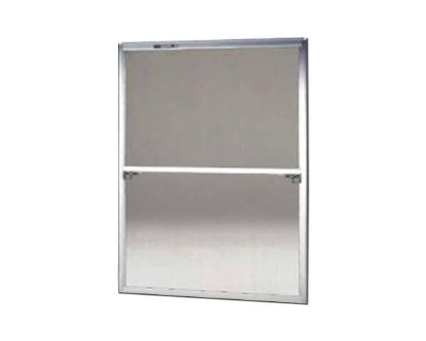 窓用サッシ網戸/フリーサイズ網戸【セイキ販売】62-92型 シルバーサイズ:H1840~1873ミリ×W1295~1315ミリ用