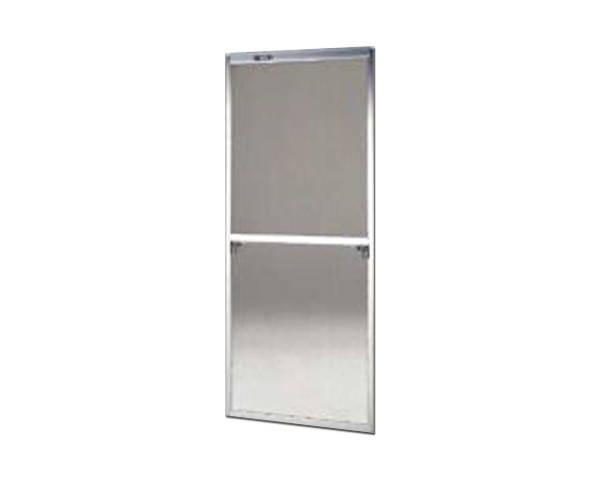 窓用サッシ網戸/フリーサイズ網戸【セイキ販売】62-94S型 シルバーサイズ:H1840~1873ミリ×W690~710ミリ用