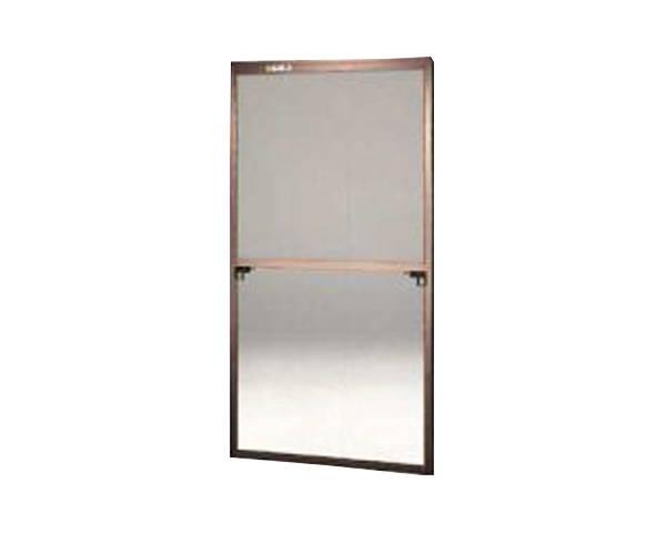 窓用サッシ網戸/フリーサイズ網戸【セイキ販売】62-60S型 ブロンズサイズ:H1840~1873ミリ×W895~915ミリ用