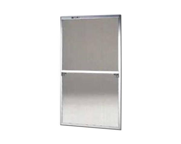 窓用サッシ網戸/フリーサイズ網戸【セイキ販売】57-120C型 シルバーサイズ:H1690~1723ミリ×W910~930ミリ用