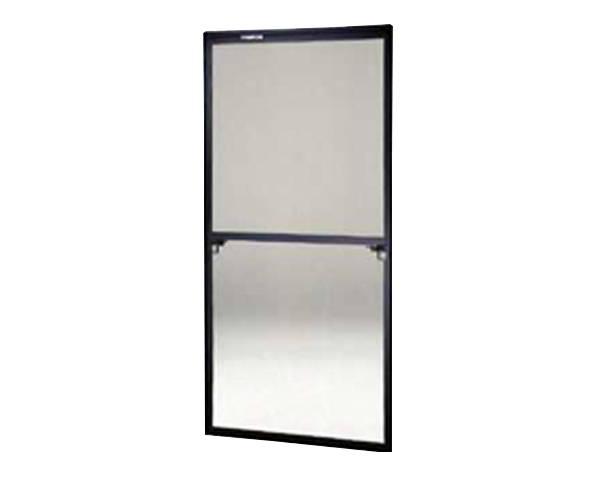 窓用サッシ網戸/フリーサイズ網戸【セイキ販売】60-120型 ブラックサイズ:H1780~1813ミリ×W875~895ミリ用