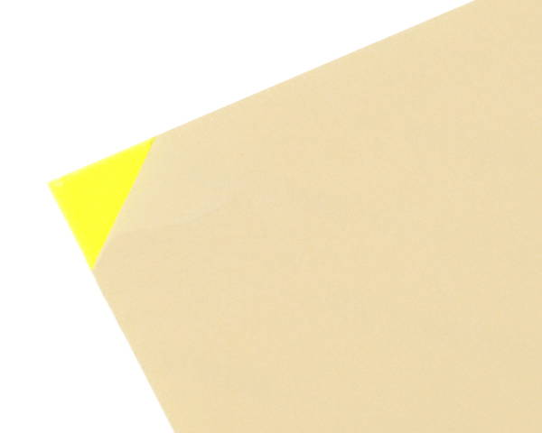 アクリルキャスト板 約930×1860×3ミリ 蛍光グリーン KAC9183-4【光】
