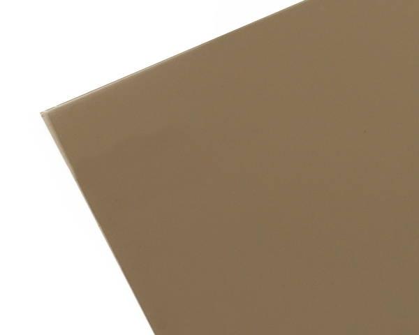 ポリカーボネート板 915×1830×3ミリ ブラウンスモーク KPAB183-2【光】