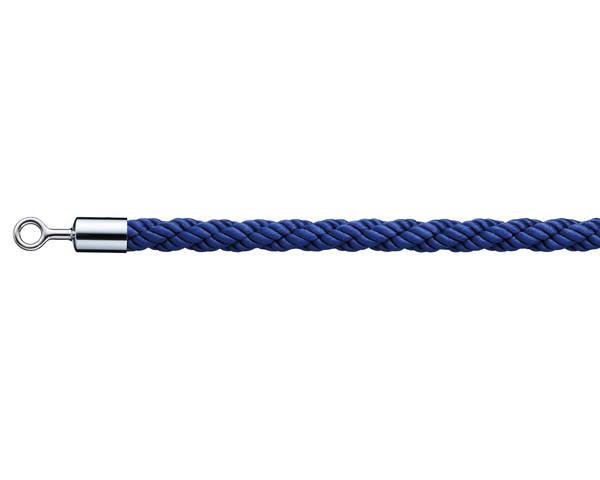 パーテーション用ロープリングタイプ  ブルー PRR25-4【光】