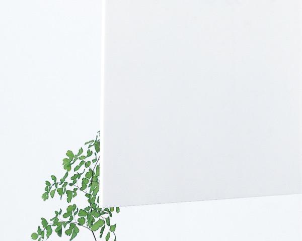 アクリル 3t×3×6 白 KA068-3BL【光】