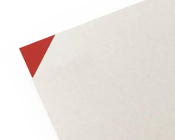 塩ビ板 3×1800×910ミリ 赤 EB1893-2【光】