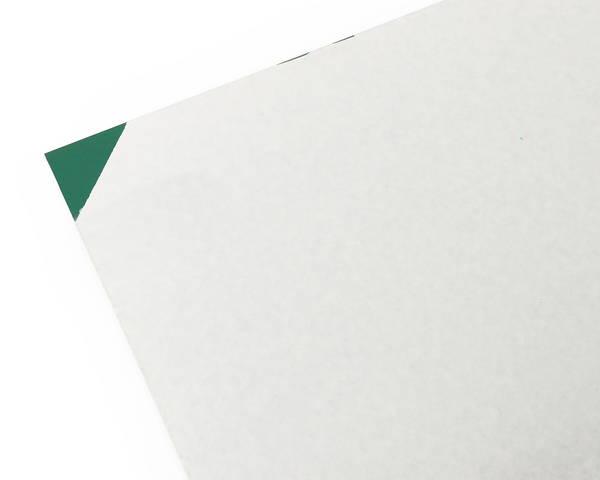 塩ビ板 3×1800×910ミリ 緑 EB1893-4【光】