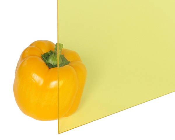 アクリル板 3×1-00×1300 レモン透明 A200-3UL【光】