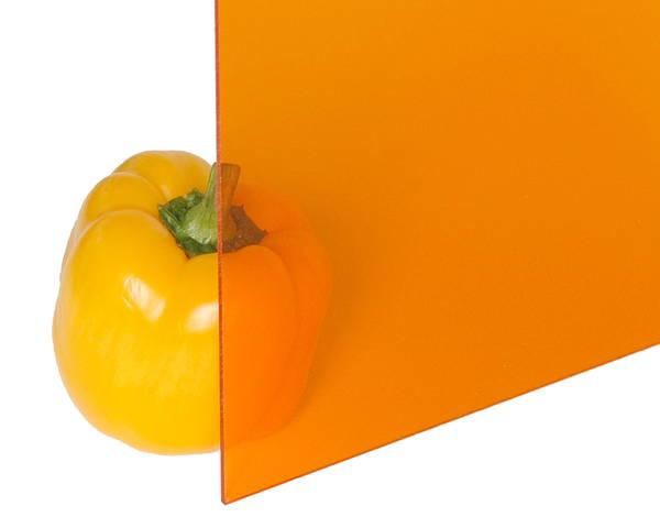 アクリル板 3×1-00×1300ミリ オレンジ A300-3UL【光】