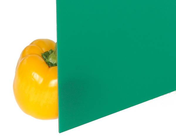 アクリル板 3×1-00×1300ミリ 緑 A695-3UL【光】
