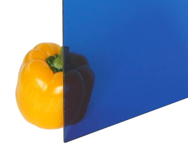 アクリル板 3×1100×1300 ブルー透明 A703-3UL【光】