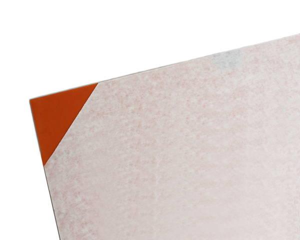 塩ビ板 2×1800×910 オレンジ透明 EB1892-9【光】