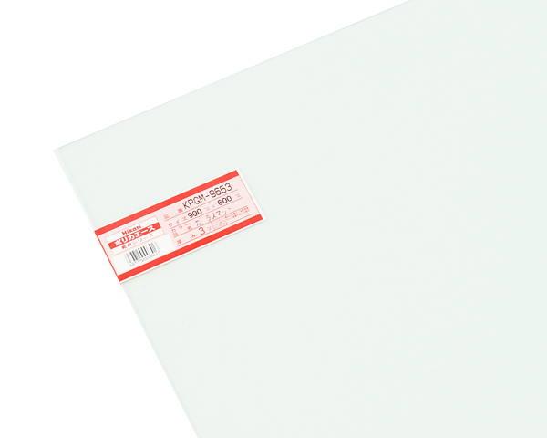 ポリカガラスマット 900×600×3ミリ  KPGM-9653【光】
