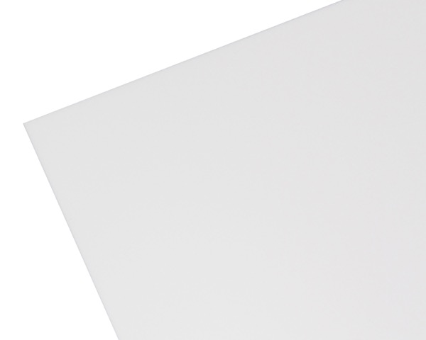【オーダー品・キャンセル返品不可】3610AW アクリル板 白色 3mm厚 600×1000mm【ハイロジック】