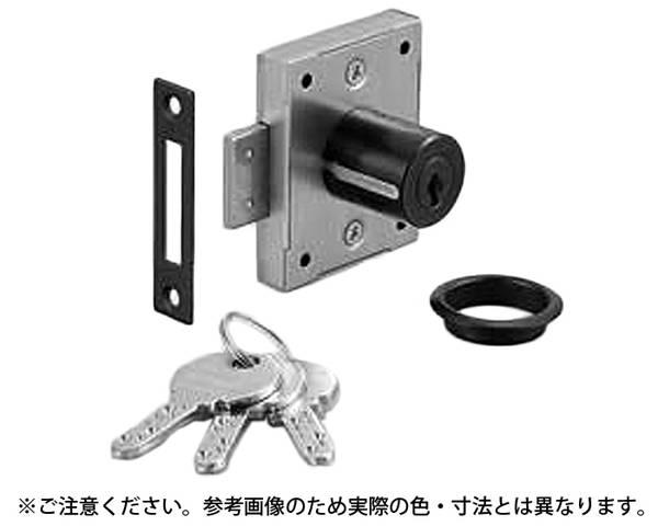 7810-30BL-B ミリオンロック(R) 面付シリンダー錠 7810型 (マスターキー機能なし)【スガツネ工業】