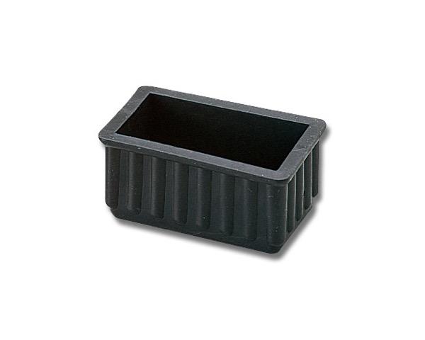 イス脚キャップ バラタイプ 黒 24×45×25mm 入数200
