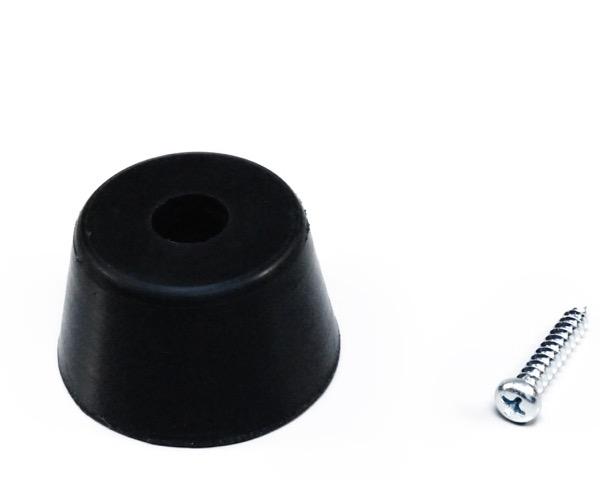ゴム丸底脚 バラタイプ 45mm 入数100