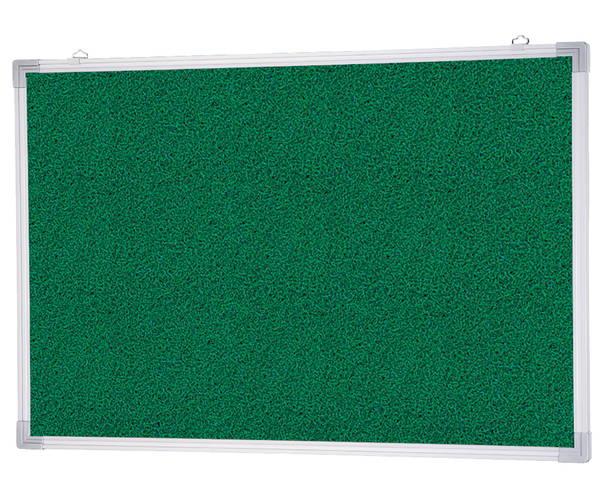 アルミ掲示板(吊下型) ラシャグリーン貼 SMS-1022【神栄ホームクリエイト】※返品不可