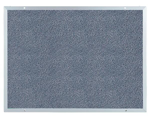 アルミ掲示板 ラシャグレー貼 SK-401-2A【神栄ホームクリエイト】※返品不可