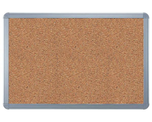 アルミ掲示板(フレーム取外し型) コルク貼シルバー SMS-1062【神栄ホームクリエイト】※返品不可
