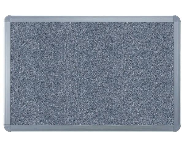 アルミ掲示板(フレーム取外し型) ラシャグレー貼シルバー SMS-1062【神栄ホームクリエイト】※返品不可