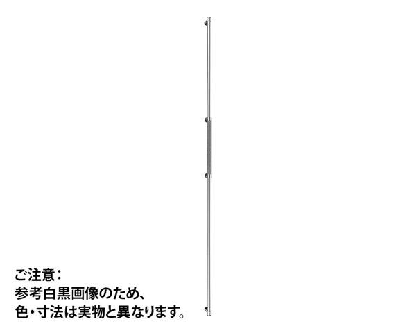 GHBS2216-BR-202ハンドル ロング 鏡面/ブラウン 2020mm 標準DT【神栄ホームクリエイト】