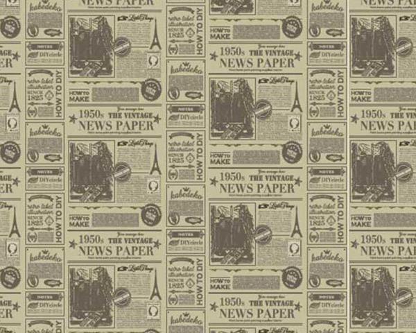 デジタルプリント壁紙 ヴィンテージv001 920mm×10m【アサヒペン】