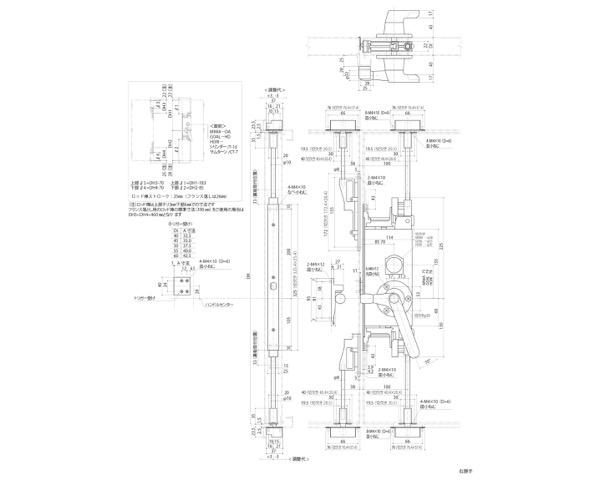 GMS-1310C(E) グレモン締リ装置 〈本体着脱方式〉【中西産業】