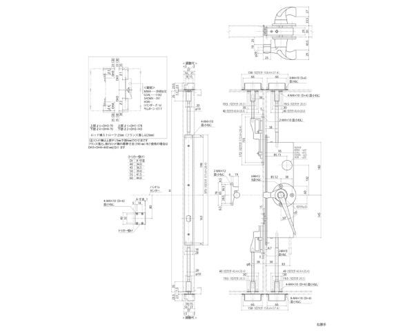 GMS-1010(E) グレモン締リ装置R【中西産業】