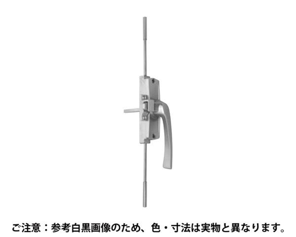 X-1210B 開窓 片面ハンドル3点支持装置R 軸40【中西産業】