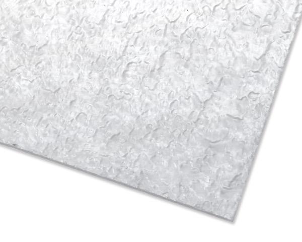 樹脂ガラス 1000×2000×3 カスミ柄 4枚入【駒谷】