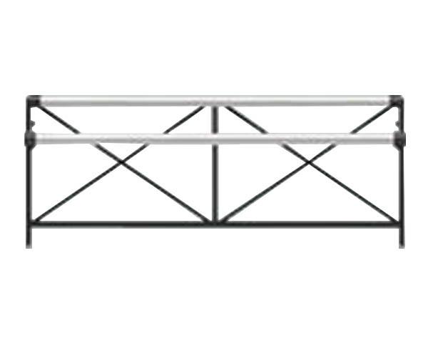 【エキスポール】ランドポール横断防止柵 LP-2091SB-2-DGY P2000【ユニオン】