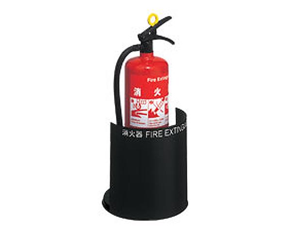 【消火器ケース】UFB-3F-2801-MBK 床置式【ユニオン】