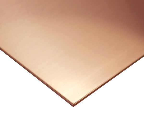 銅板(タフピッチ) 600mmx365mm 厚さ8mm【新鋭産業】
