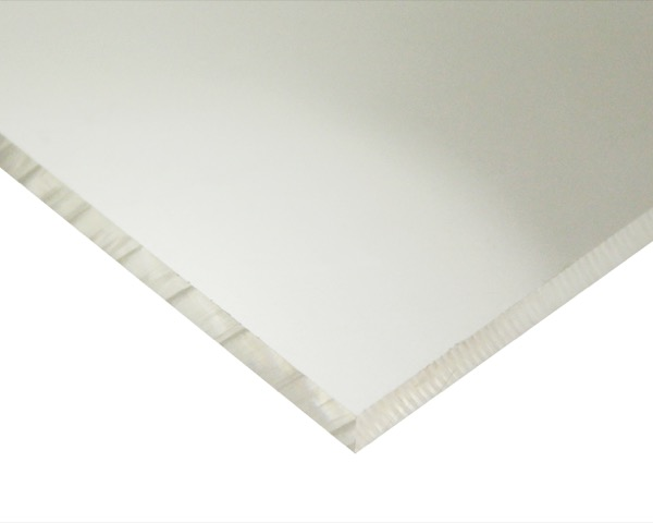 PVC(塩ビ)(透明) 400mm×1700mm 厚さ8mm【新鋭産業】