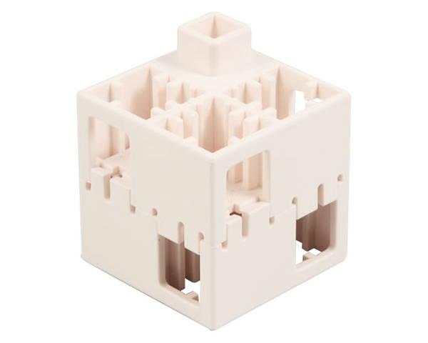J・ArtecLブロック 四角 100ピース 白【アーテック】