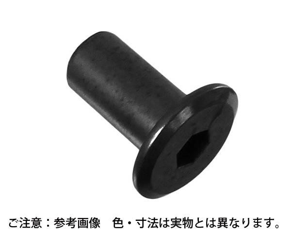 鉄ブロンズメッキ 飾りナット 六角穴 サイズ6X12 入数200【ハイロジック】