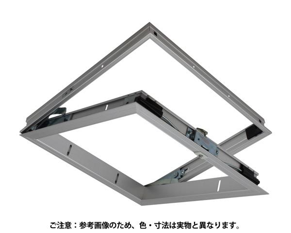 気密天井点検口  450mm角 シルバー アルミ【サヌキ】