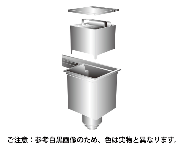 流れーる 左排水 148×243×1500 【サヌキ】