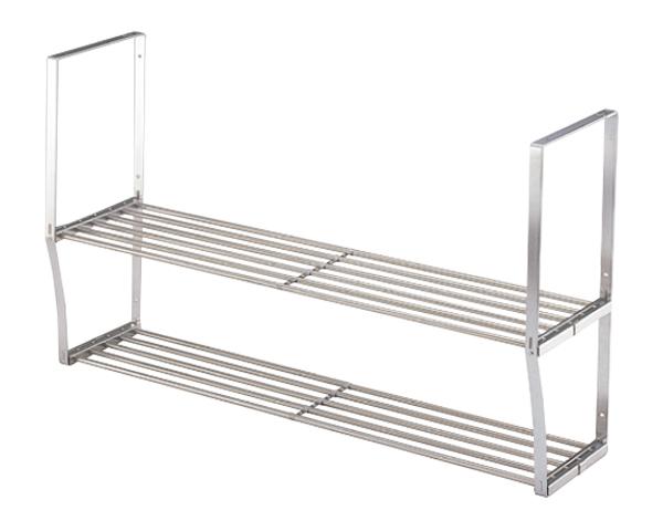 水切りパイプ棚 2段タイプ W900 【サヌキ】