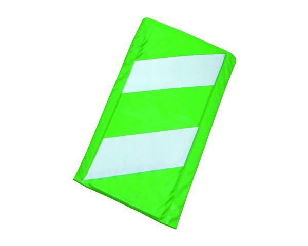 コーナークッション 緑白 275×2000 10枚【エムエフ】