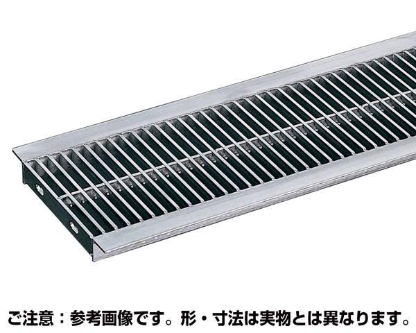 U字溝用溝幅120mm 標準細目溝蓋ステンレスグレーチング 内幅1-0×長さ994×高さ20ミリ【奥岡製作所】