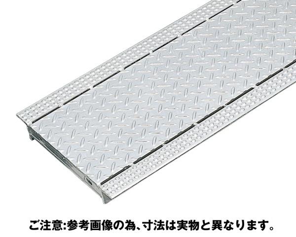 OKAX-18スチール製縞鋼板貼りグレーチング ノンスリップタイプ【奥岡製作所】