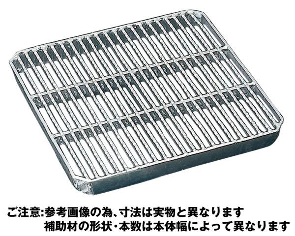 OKT-P5-40スチール製会所桝用ます蓋 細目プレーンタイプ【奥岡製作所】
