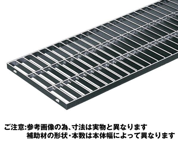 OSG4-NS 25-25Aステンレス製横断・側溝用グレーチング並目ノンスリップ【奥岡製作所】