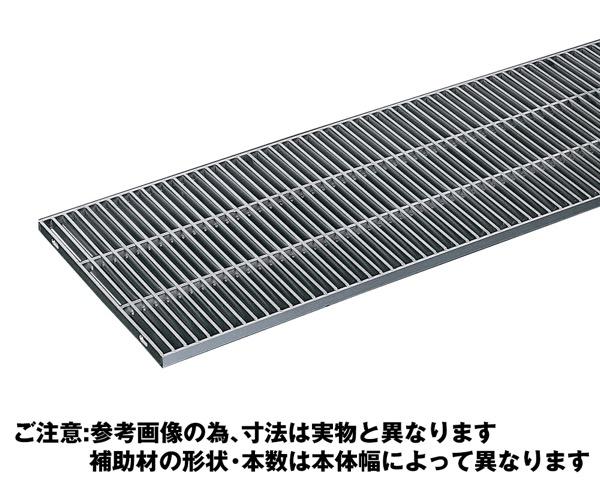 OSG4-NS 25-30Cステンレス製横断・側溝用グレーチング細目ノンスリップ【奥岡製作所】