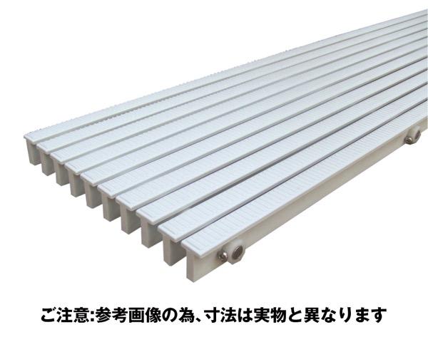 RRL-200樹脂グレーチング抗菌・耐候性ノンスリップステンレスシャフト【奥岡製作所】