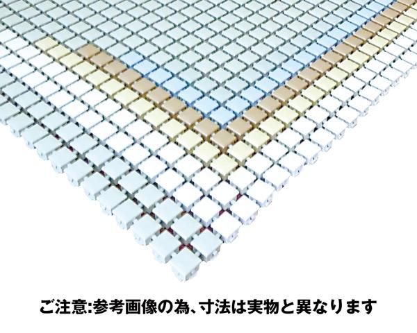 RRM樹脂すのこ抗菌・耐候性パッチワークタイプ【奥岡製作所】