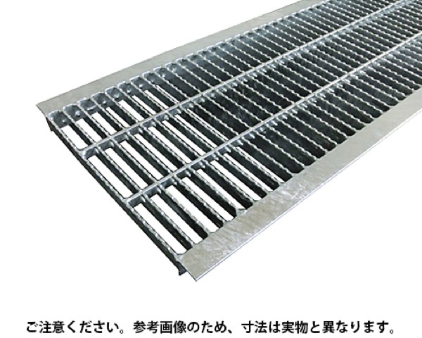 OKUN-M3 30-25中間目ノンスリップ溝蓋グレーチングOKUN-M3 30-25【奥岡製作所】