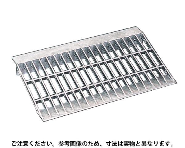OKD-GN 600-2スチール製段差グレーチング(溶融亜鉛メッキ仕上)【奥岡製作所】